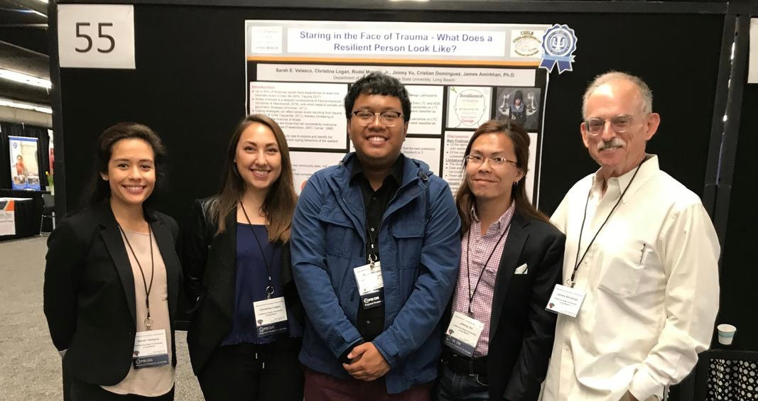 Presentation group at the annual Western Psychological Association Conference in Portland, Oregon 2018.