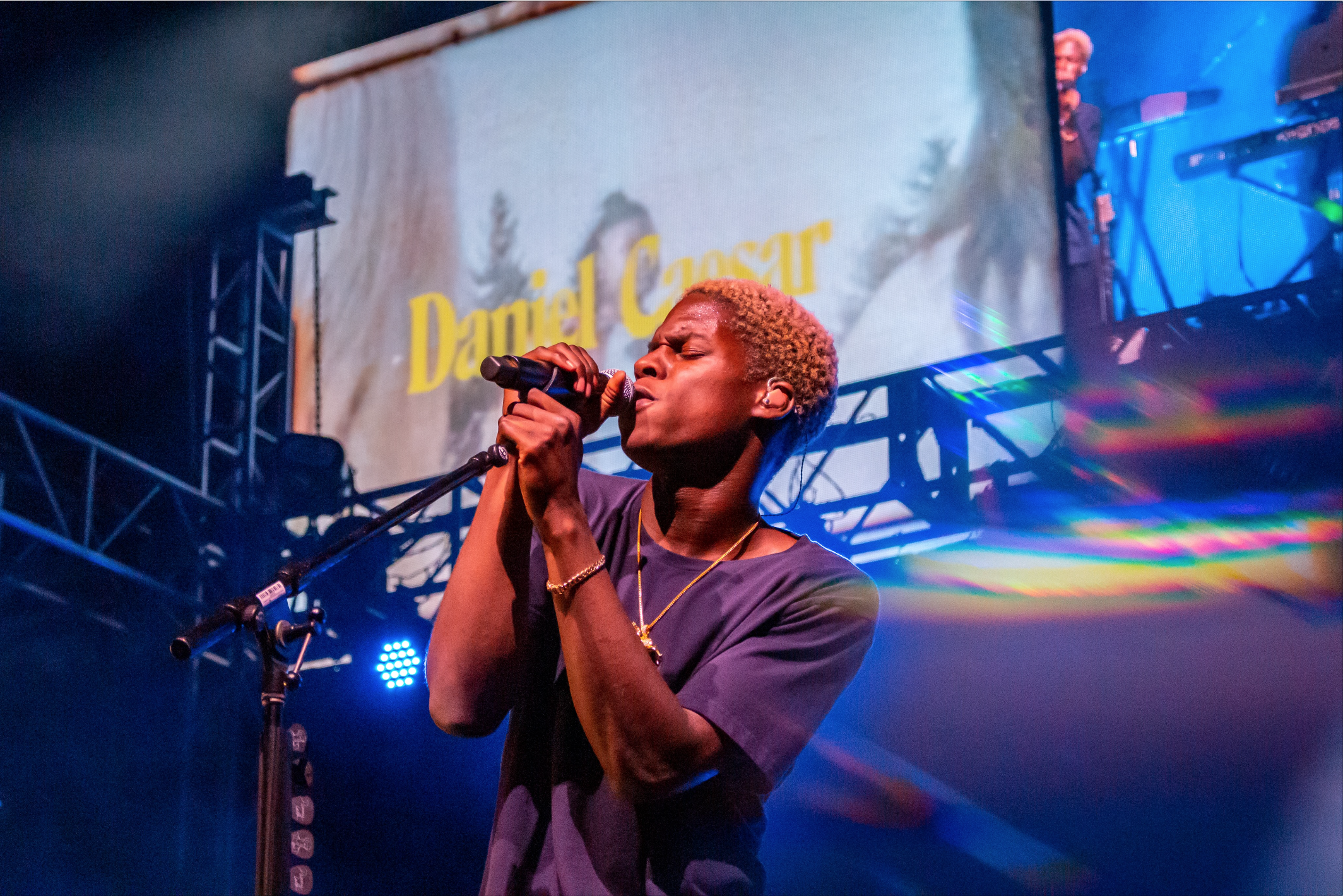 Daniel Caesar performed at the 2019 ASI Big Event. / Photo by Niyah Maldonado