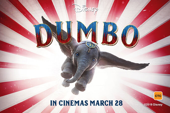 March 28 - Dumbo is the first of the Disney live action films for 2019 to be released. The trailer was just a teaser to the beloved classic tale of a unique baby elephant with oversized ears. With actors Danny DeVito, Colin Farrell and Michael Keaton under the direction of Tim Burton as the director, this enthusiastic film is sure to be a charming and imaginative remake that will tug at your heartstrings.