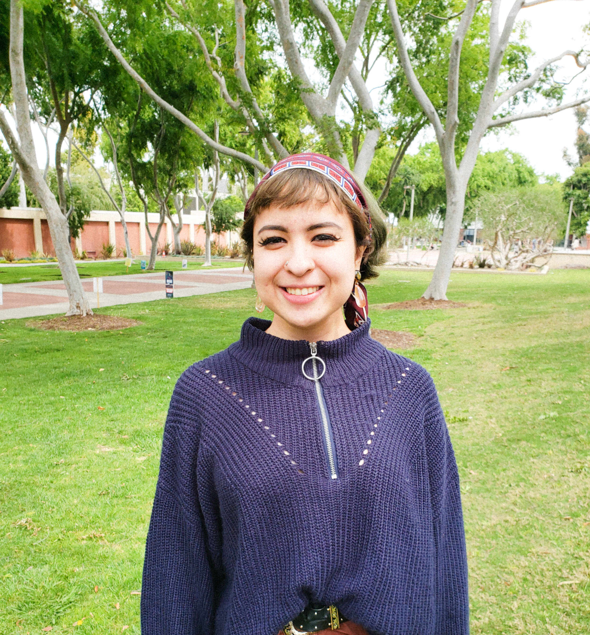 Karla Lopez, 22, journalism major.