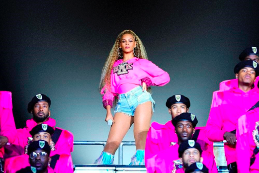 """Beyoncé in a scene from her documentary """"Homecoming: A Film by Beyoncé.""""    Photo Credit: Netflix"""