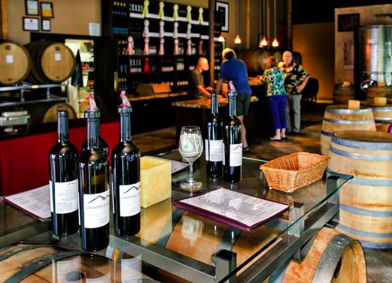 Credit Laguna Canyon Winery Facebook page. Visit Laguna Canyon Winery for a fun and friendly tasting.