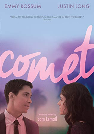 Comet is at times hazy as if viewing through a filter, but it's only until the end that the message of the movie ties together. Photo courtesy of  Amazon .
