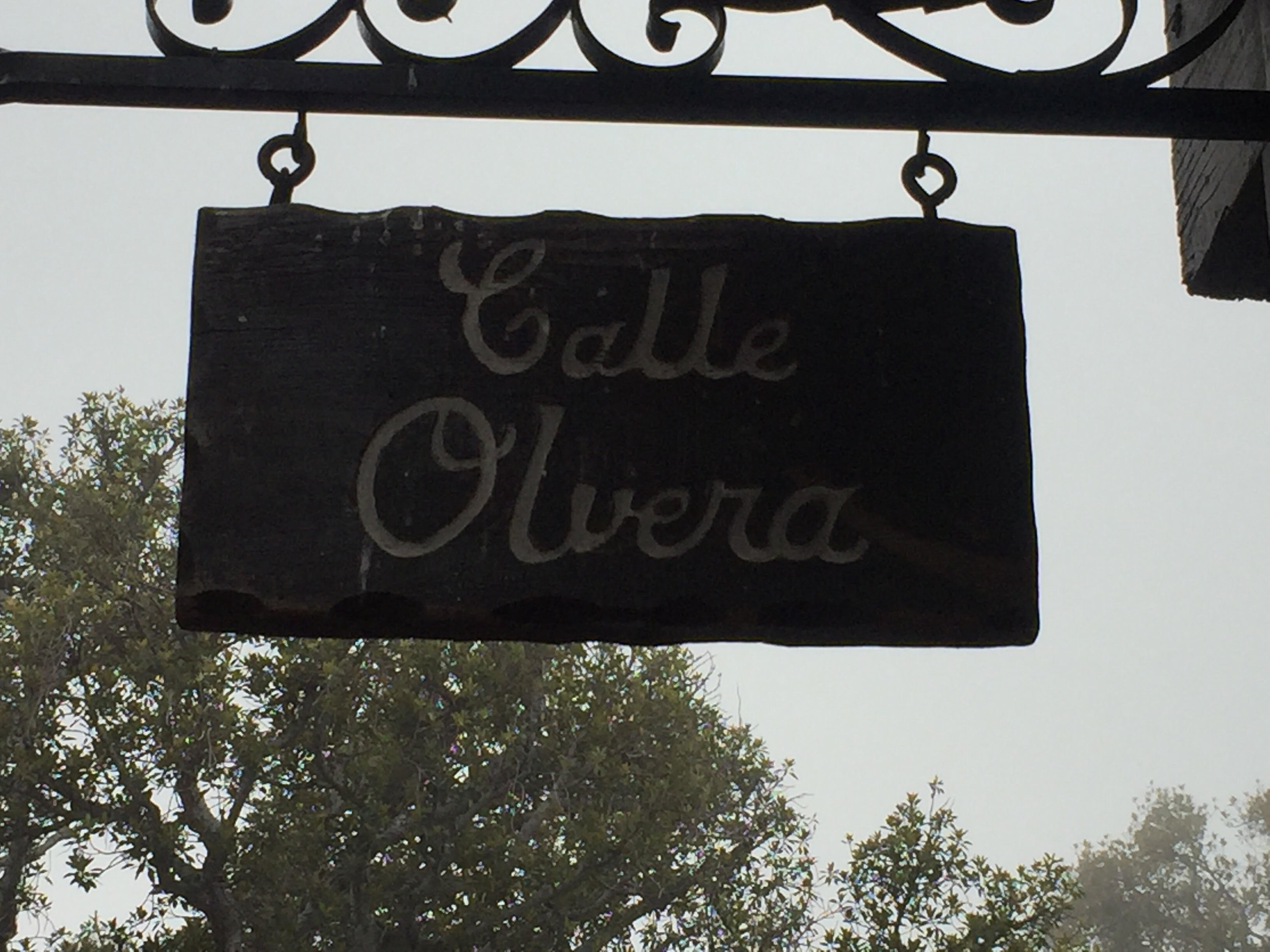 Olvera Street is one of the oldest streets in Los Angeles.