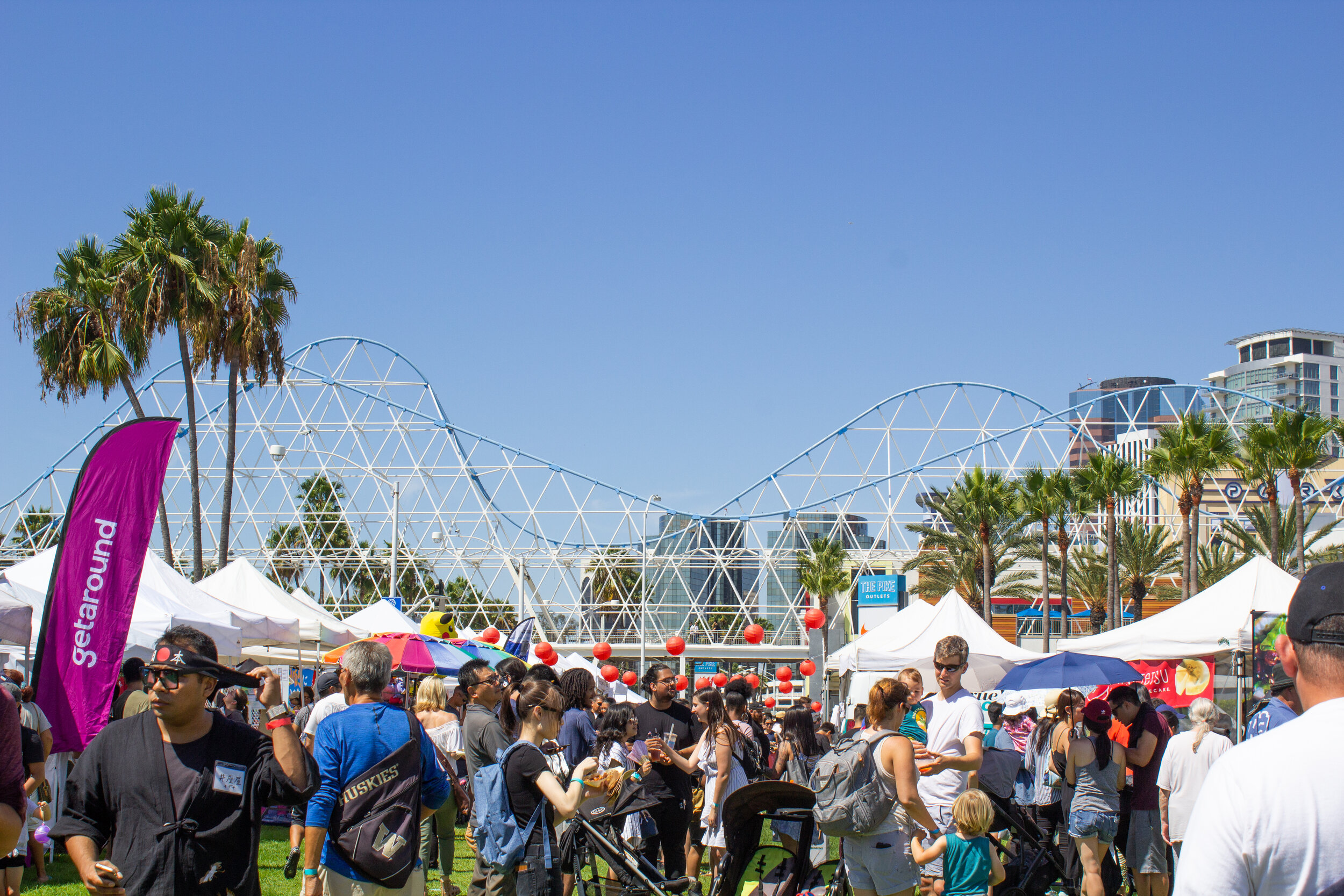 It was in the upper 80 degrees on Saturday, but it did not stop many people from attending Taste of Japan.