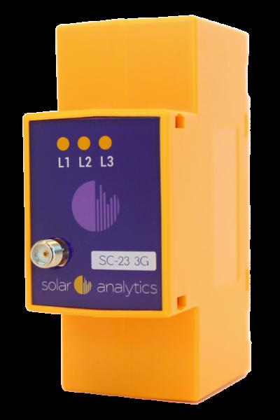 Energy monitor made by Wattwatchers for Solar Analytics branding