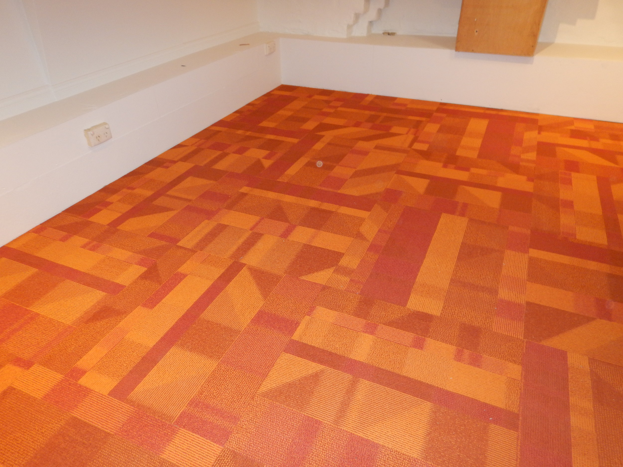 •  The new 'cradle to cradle' tile carpet in my house - by EcoWorx