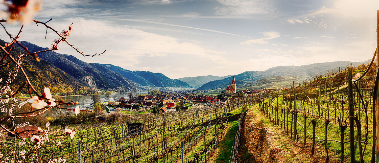 Panorama aus der Wachau