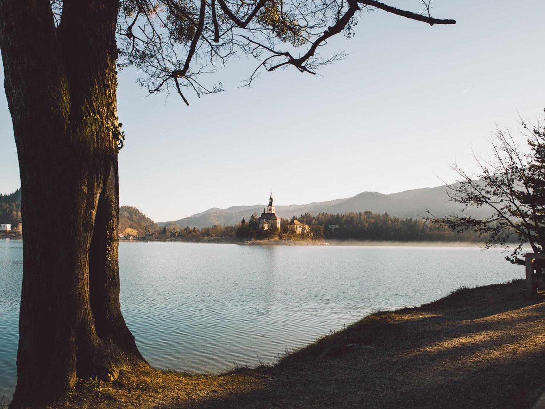 Landschaftsfotografie -  Bled Slowenien