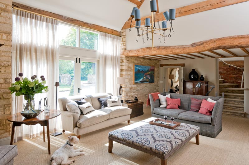 The Grade Two listed barn was converted into a house 7 years ago and the new owners...    V iew G allery