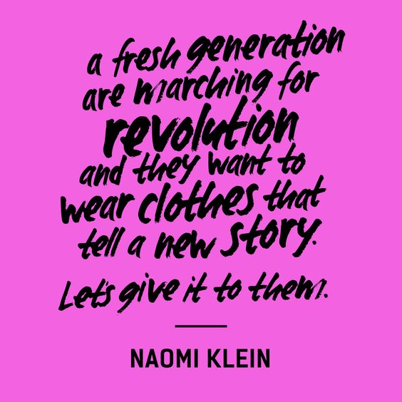 Quotes from FashionRevolution.org