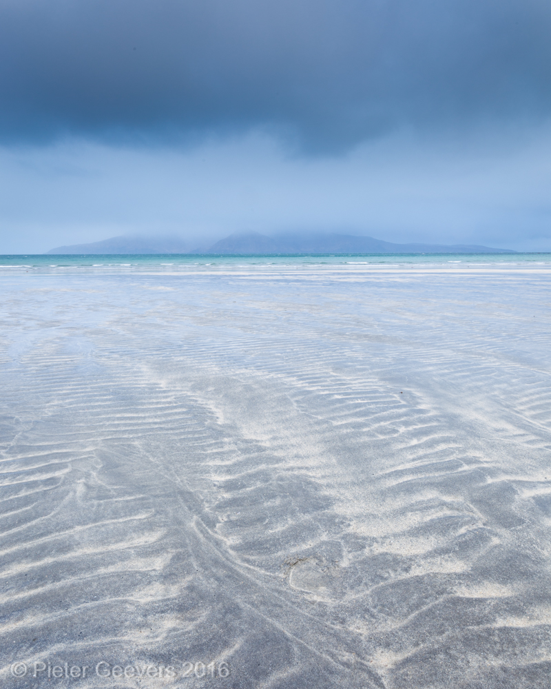 Sand patterns, Isle of Eigg, Scotland
