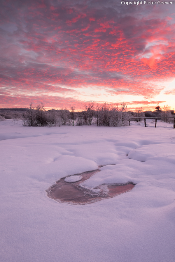 Sunset at the High Fenn