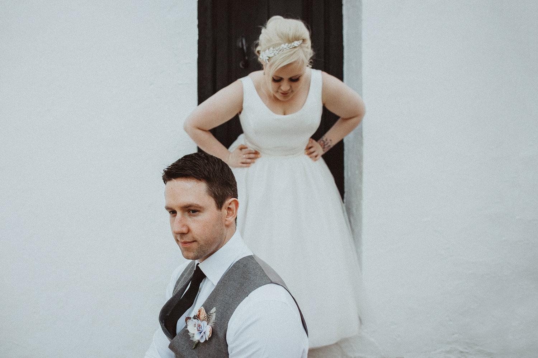 Ashley & Martin's intimate destination wedding in Altea in Alica