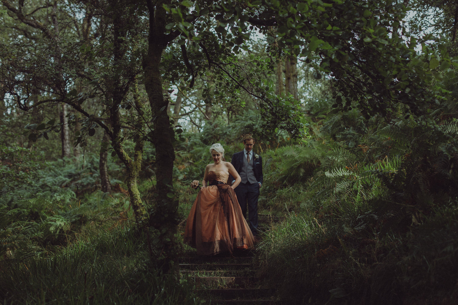 David & Victoria's wedding in Inchcailloch Island, Loch Lomond | One Devonshire Gardens, Glasgow - 12th September 2015, Scotland
