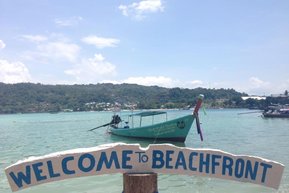 Welcome to Beachfront - Beachfront Divers - Koh Phi Phi, Thailand