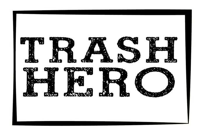 Trash Hero - The Trash Hero mission is to create sustainable, community-based projects that remove existing waste, and reduce future waste by inspiring long-term behaviour change.At Beachfront you can purchase a Trash Hero Water Bottle, that not only looks super-stylish but also avoids the need for single use plastic; refills are then free, not just from us but from hundreds of locations across the world!