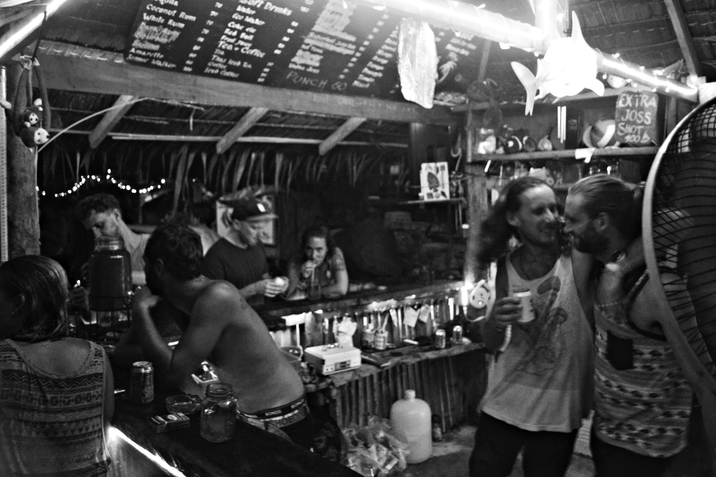 Beachfront Bar - Beachfront Divers - Koh Phi Phi, Thailand