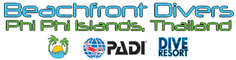 Beachfront Divers - PADI SCUBA Diving Dive Resort Phi Phi Islands Thailand