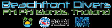 Beachfront Divers - PADI SCUBA Diving Dive Resort Phi Phi Islands Thailand