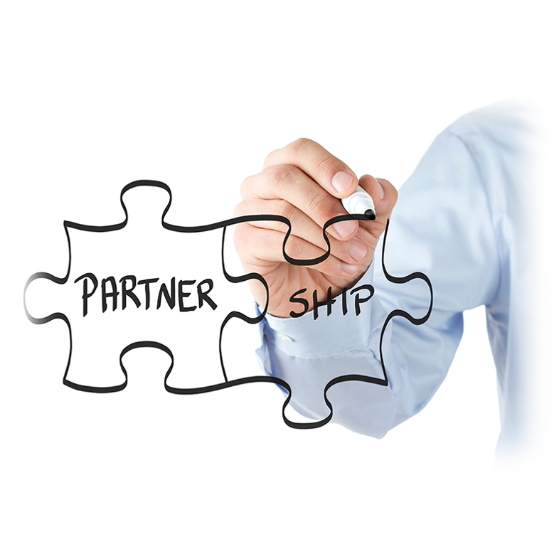 We build partnerships, not transactions -