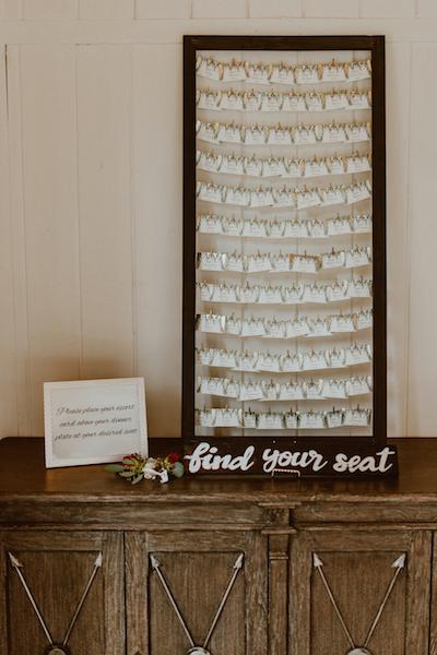 Provenance Vintage Rentals Los Angeles Rustic Escort Card Display Calamigos Ranch Malibu Wedding.png