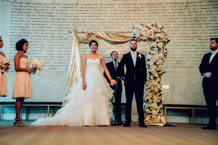 Provenance Vintage Rentals Los Angeles C+J Jewish Wedding Gold Wedding LA Music Hall 5.png