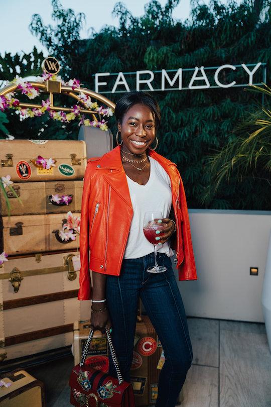 Provenance Vintage Rentals near Me Los Angeles Farmacy Honeymoon Glow Luanch Party Beverly Hills Waldorf Astoria Vintage Luggage 22.jpg