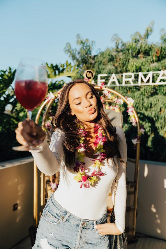 Provenance Vintage Rentals near Me Los Angeles Farmacy Honeymoon Glow Luanch Party Beverly Hills Waldorf Astoria Vintage Luggage 27.jpg