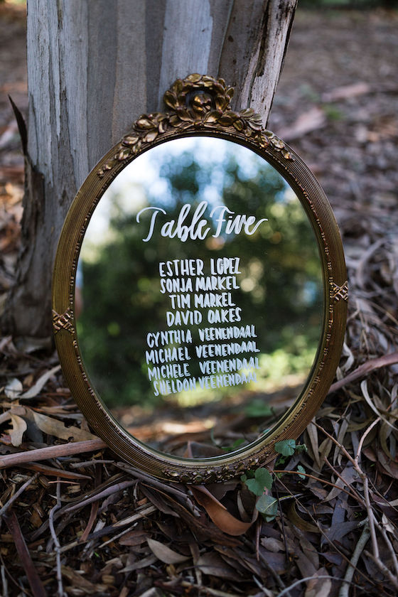 Amanda Vintage Wall Mirror