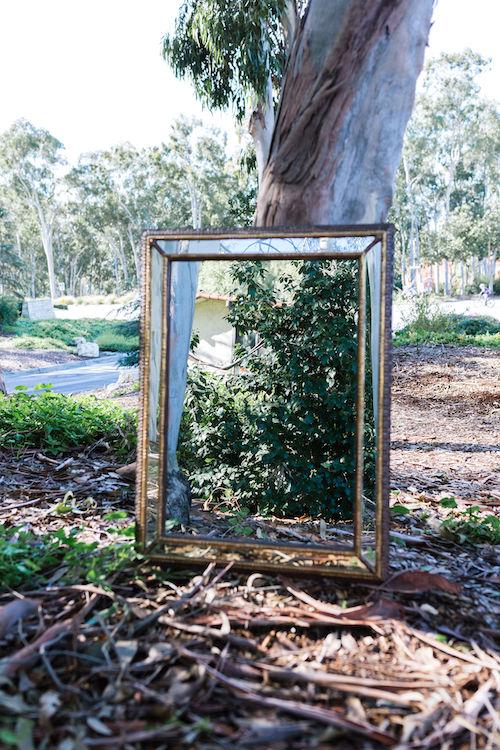 Marie Vintage Rectangular Mirror