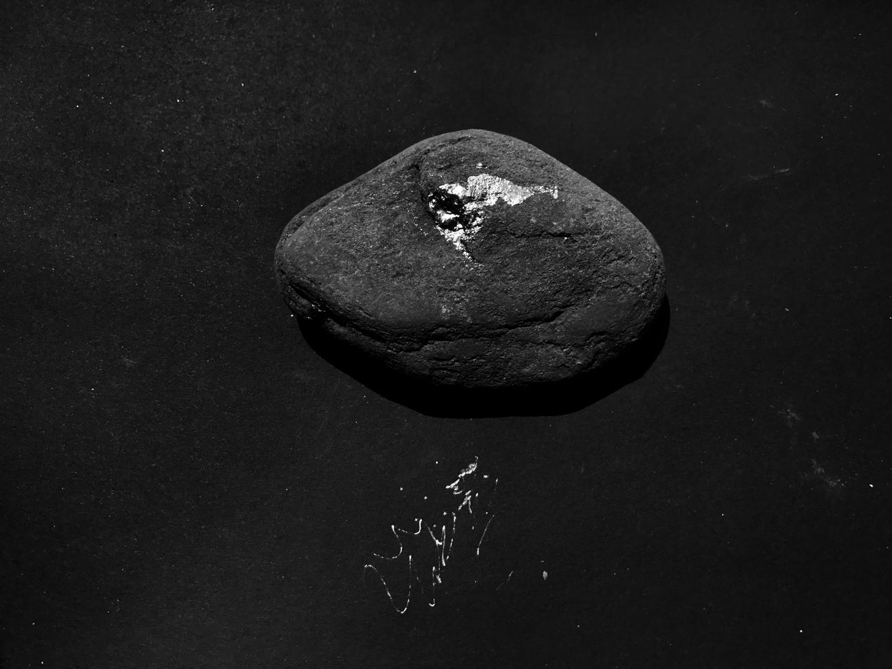 Stone, 2017, archival pigment print, 112x150 cm