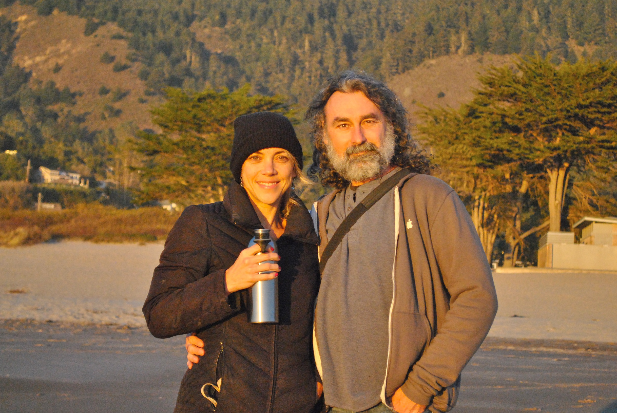 Shiloh and I at Stinson Beach, California,photo by Savannah.