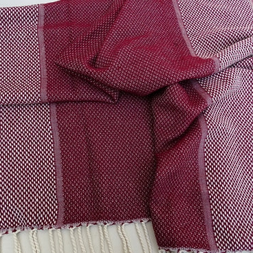 Alifeincolours - Burgundy Turkish Towel - $23.95
