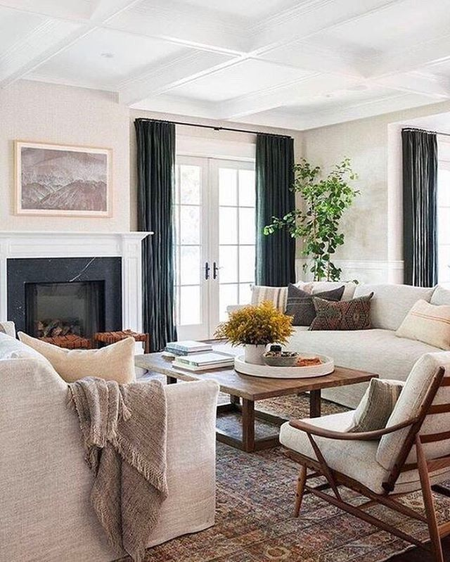 All of the textures! So inviting with all the soft and neutral tones, @amberinteriors always layers things to perfection. #interiorinspiration