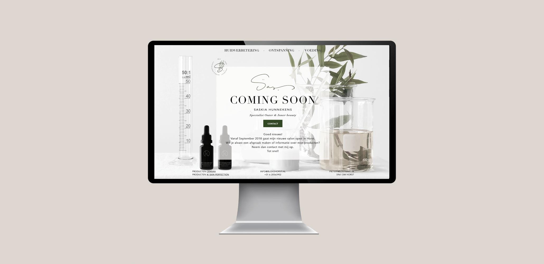 Bij Sas     art direction - design - webdesign