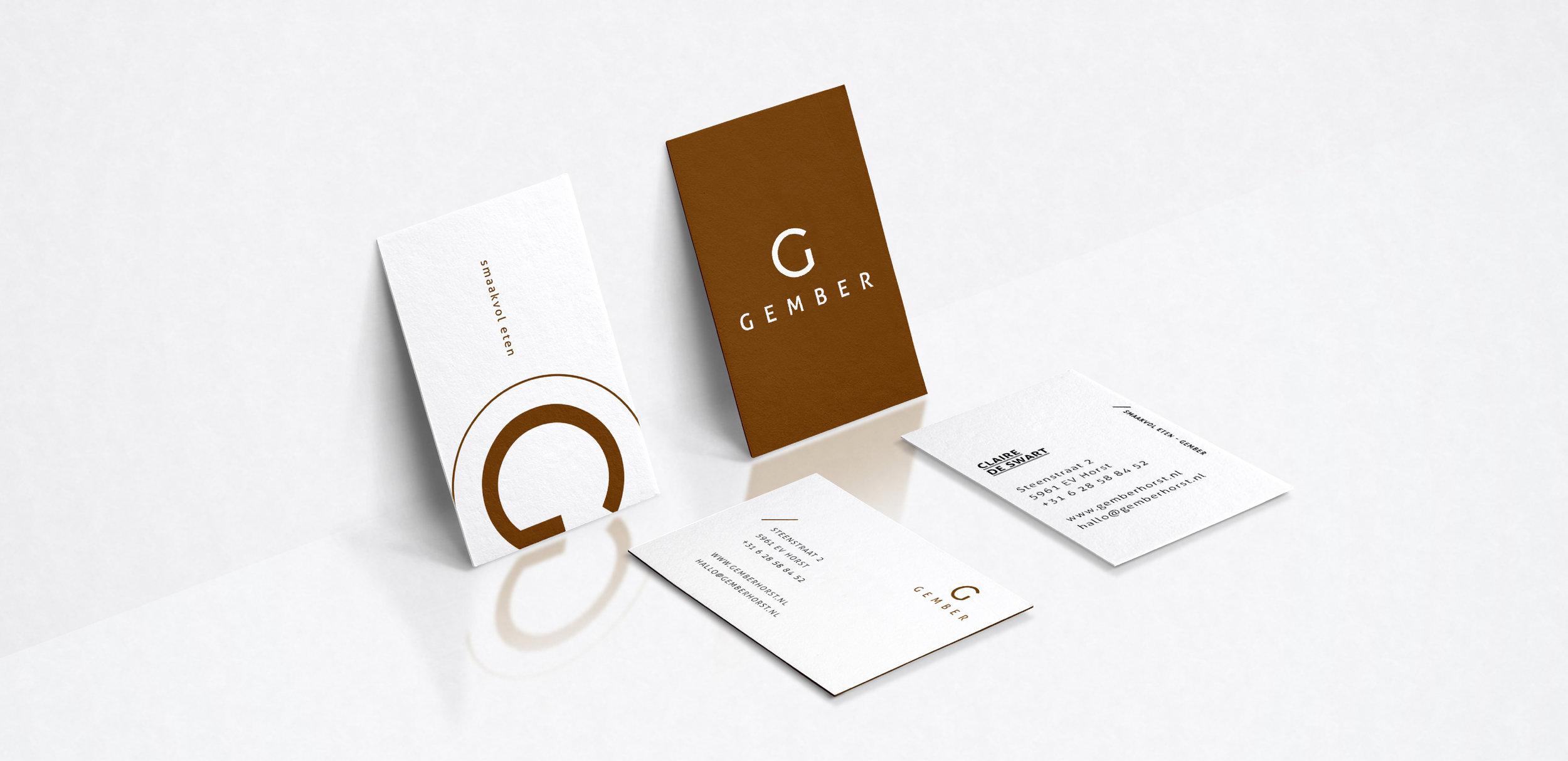 GEMBER  art direction - copywrite - design - fotografie