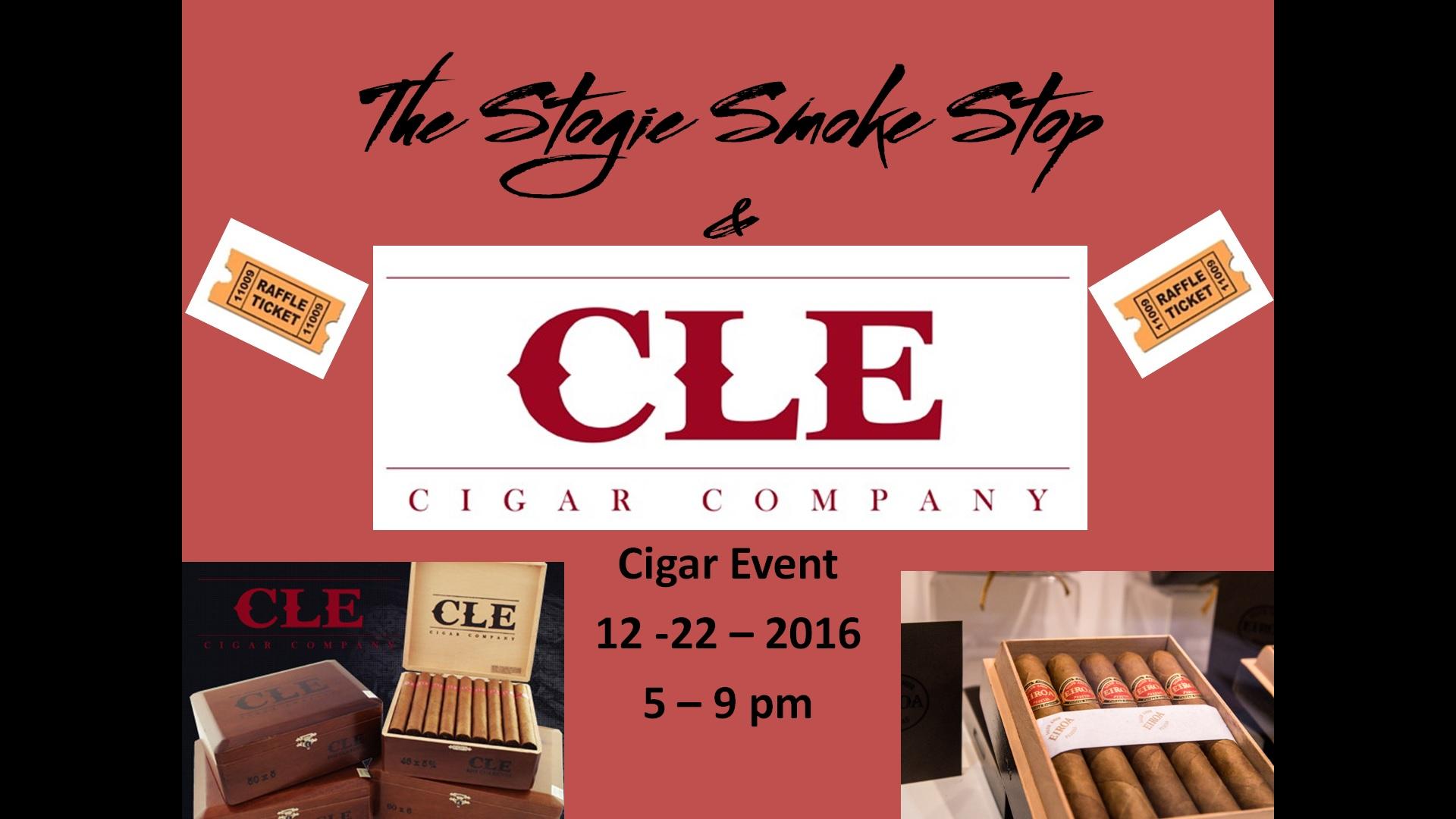 C.L.E.Cigar Event 12-22-16 5 - 9 pm