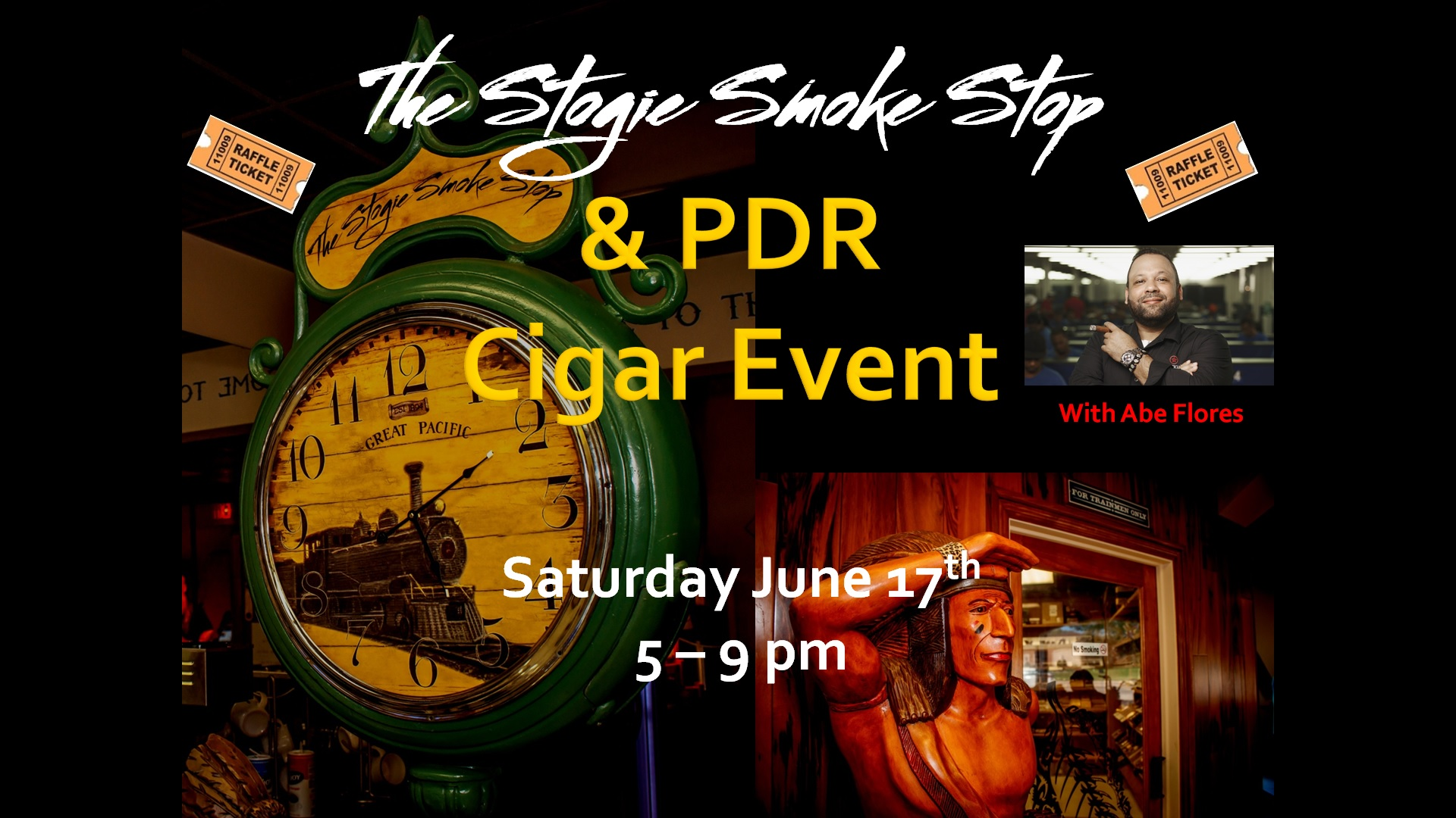 PDR Cigar Event with Abe Flores