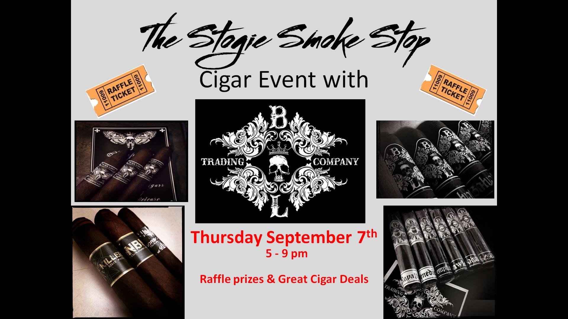 Black Label Trading Co Cigar Event