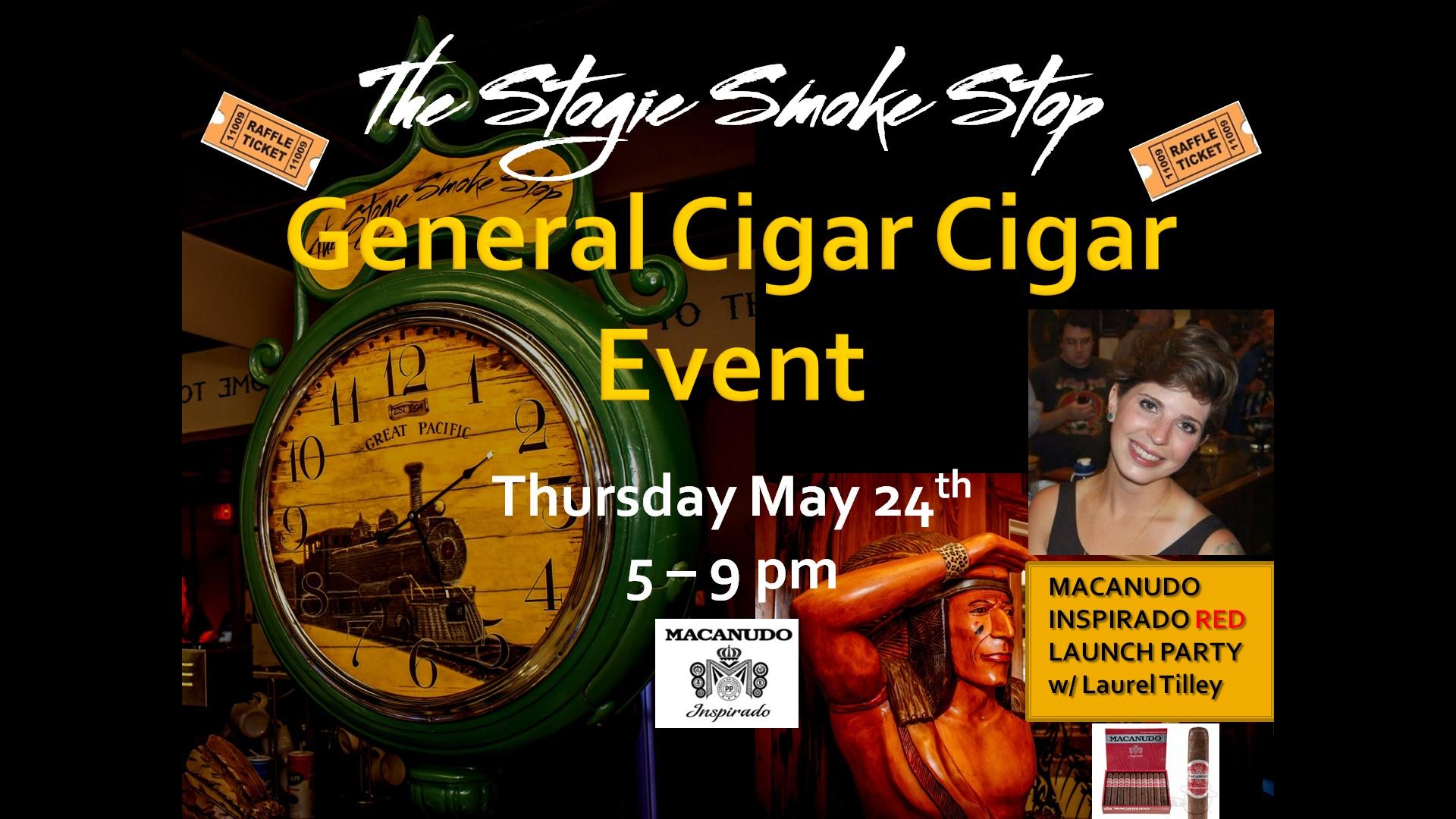 General Cigar Event w/ Laurel Tilley