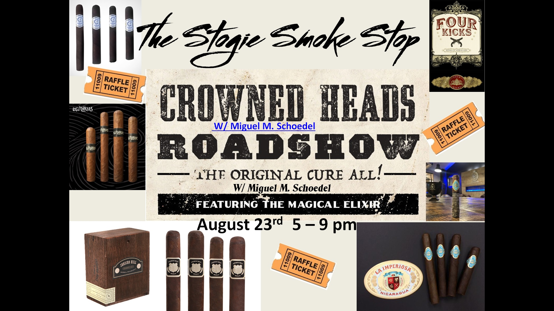 Crowned Heads Cigar Event w/ Miguel