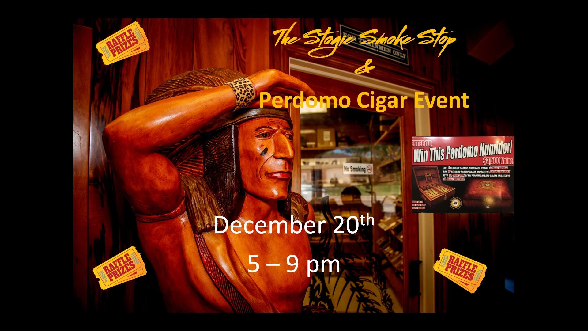 Perdomo Cigar Event & Humidor Give Away