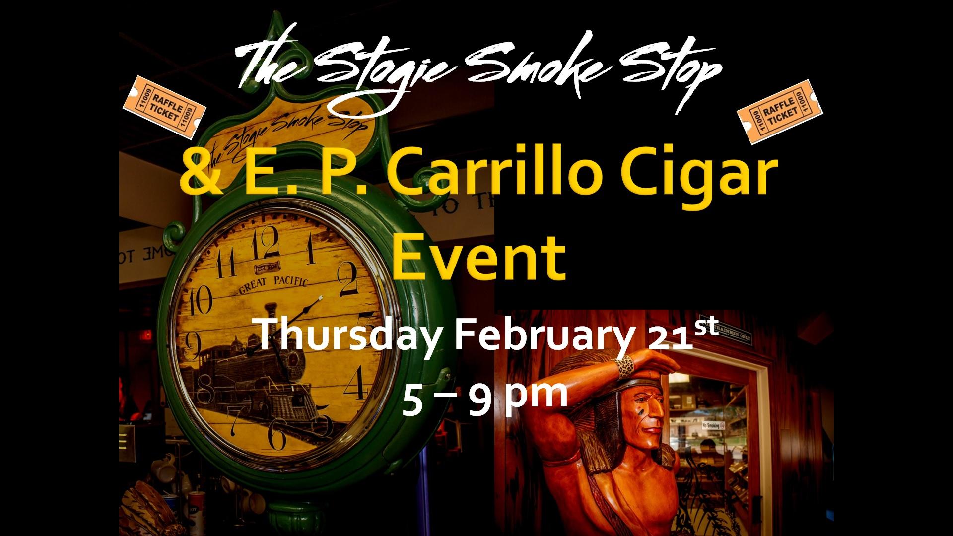 E. P. Carrillo Cigar Event