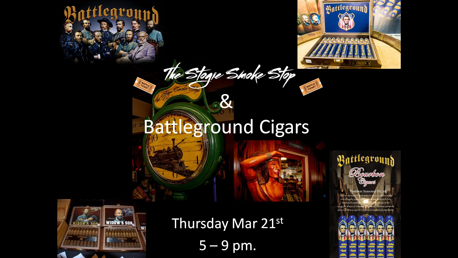 Battleground Cigar Event Thur. March 21st 5 - 9 pm