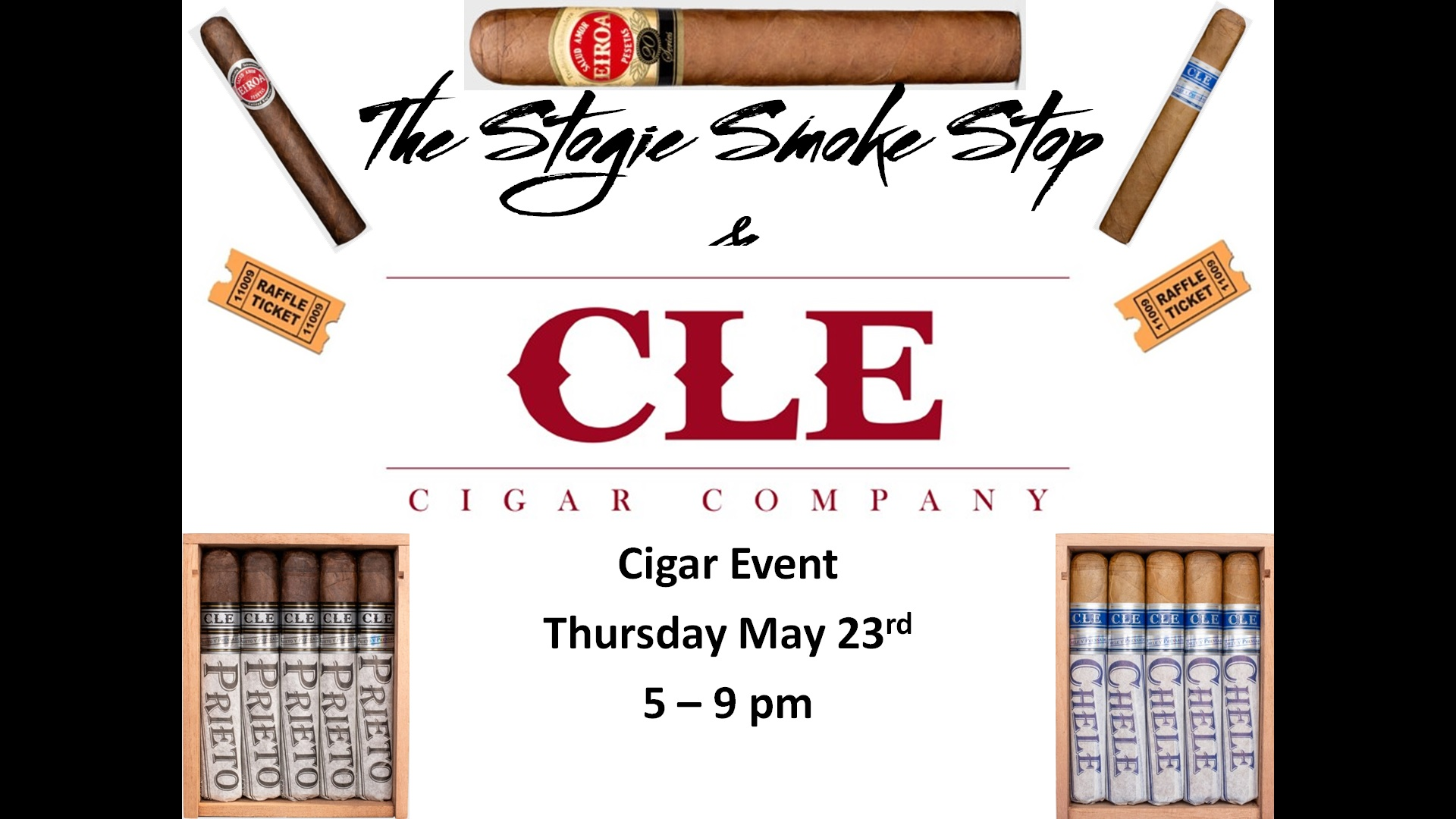 C L E Cigar Event