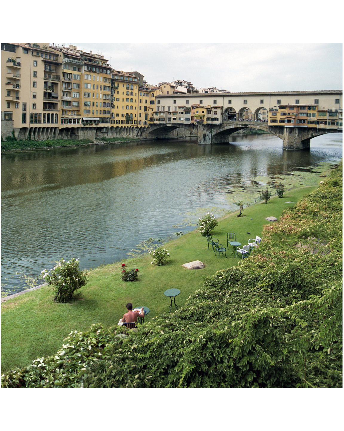 Afternoon at the Ponte Veccio - Florence, Italy