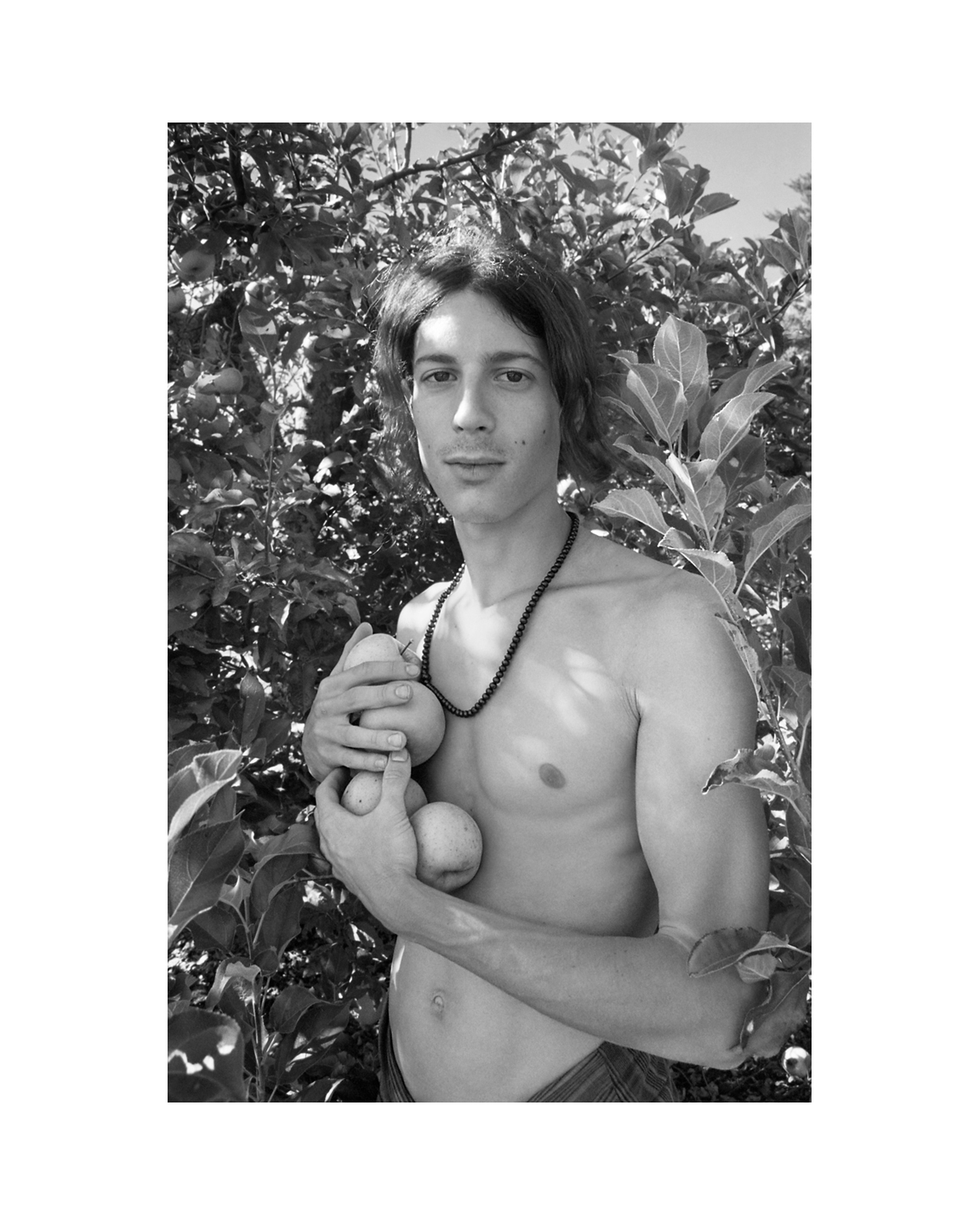 Andrew in the Orchard