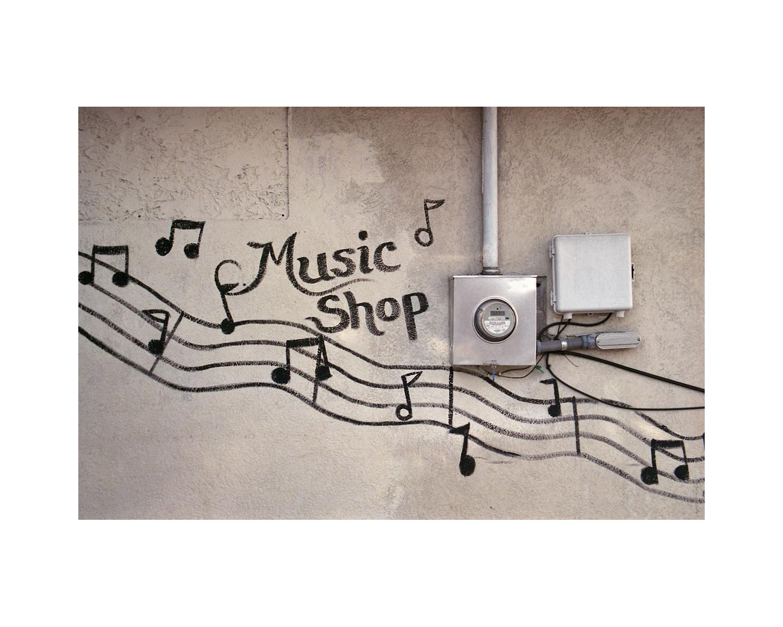 Music Shop - Montgomery Street - Savannah, GA