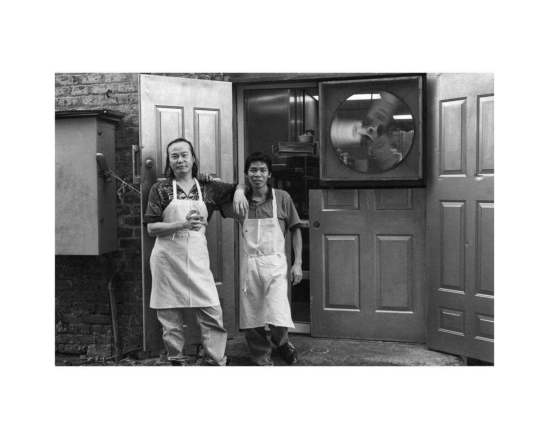 Back Door Kitchen, Broughton Street alley